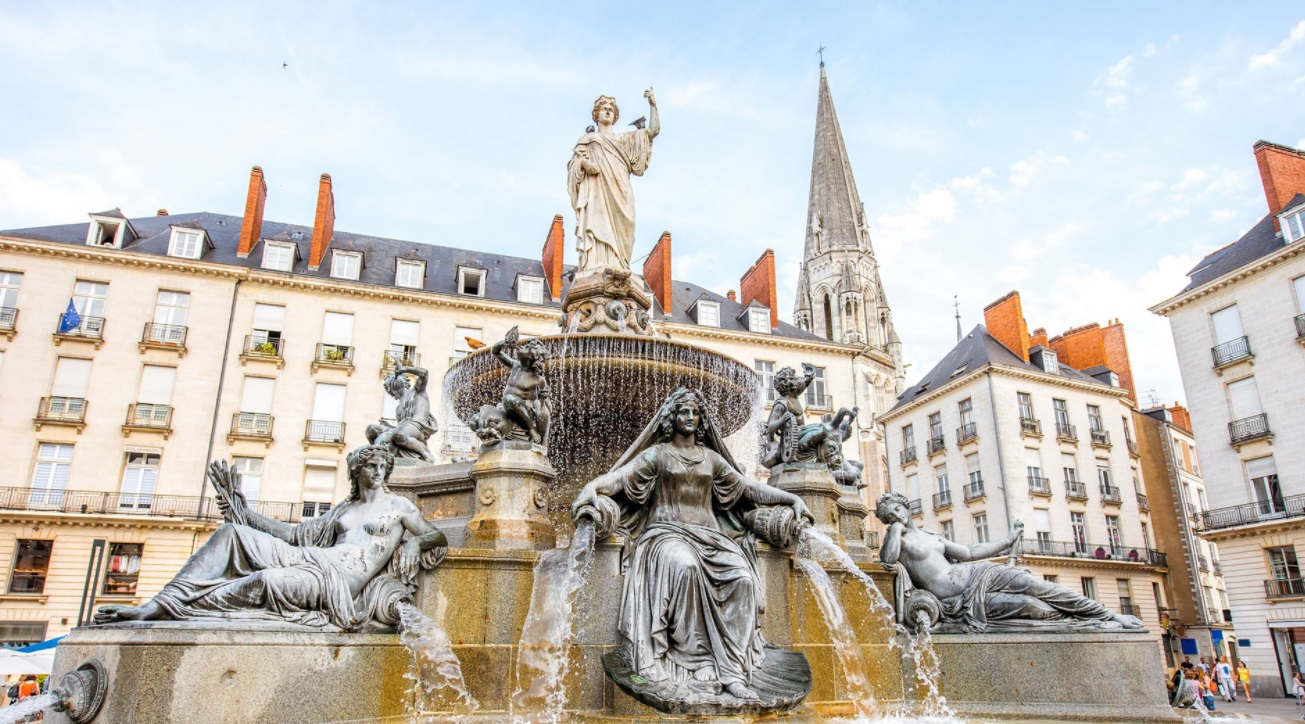 Fontaine à Nantes