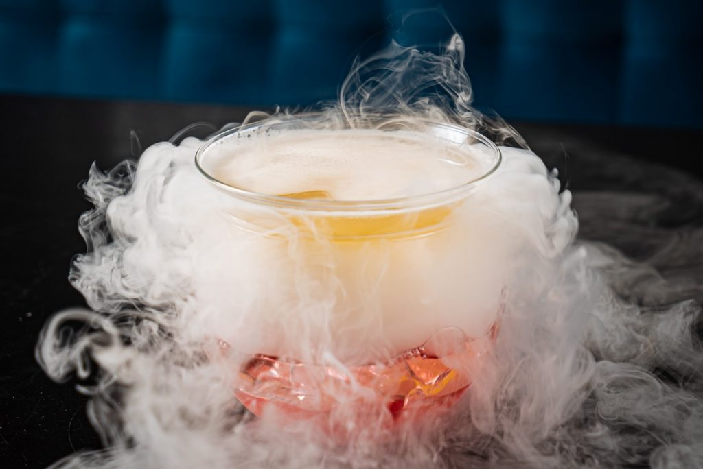 fumée pour Halloween