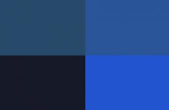 Quelle couleur avec le bleu nuit ?