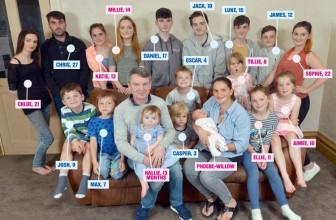 Quelle est la famille la plus nombreuse du monde ?